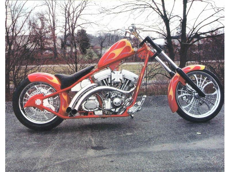 West Coast Custom Chopper Build For Sale